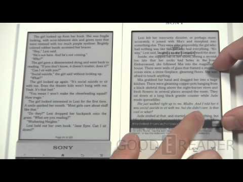 Sony reader prs t2 reviews specs price compare sony prs t1 vs the sony prs t2 publicscrutiny Images