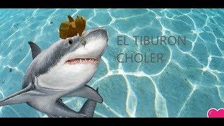 SUPERTIBURON CHOLER//SALUDOS//SHARK BITE //ROBLOX