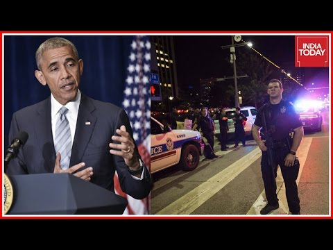Barack Obama Condemns Police Killings In Dallas