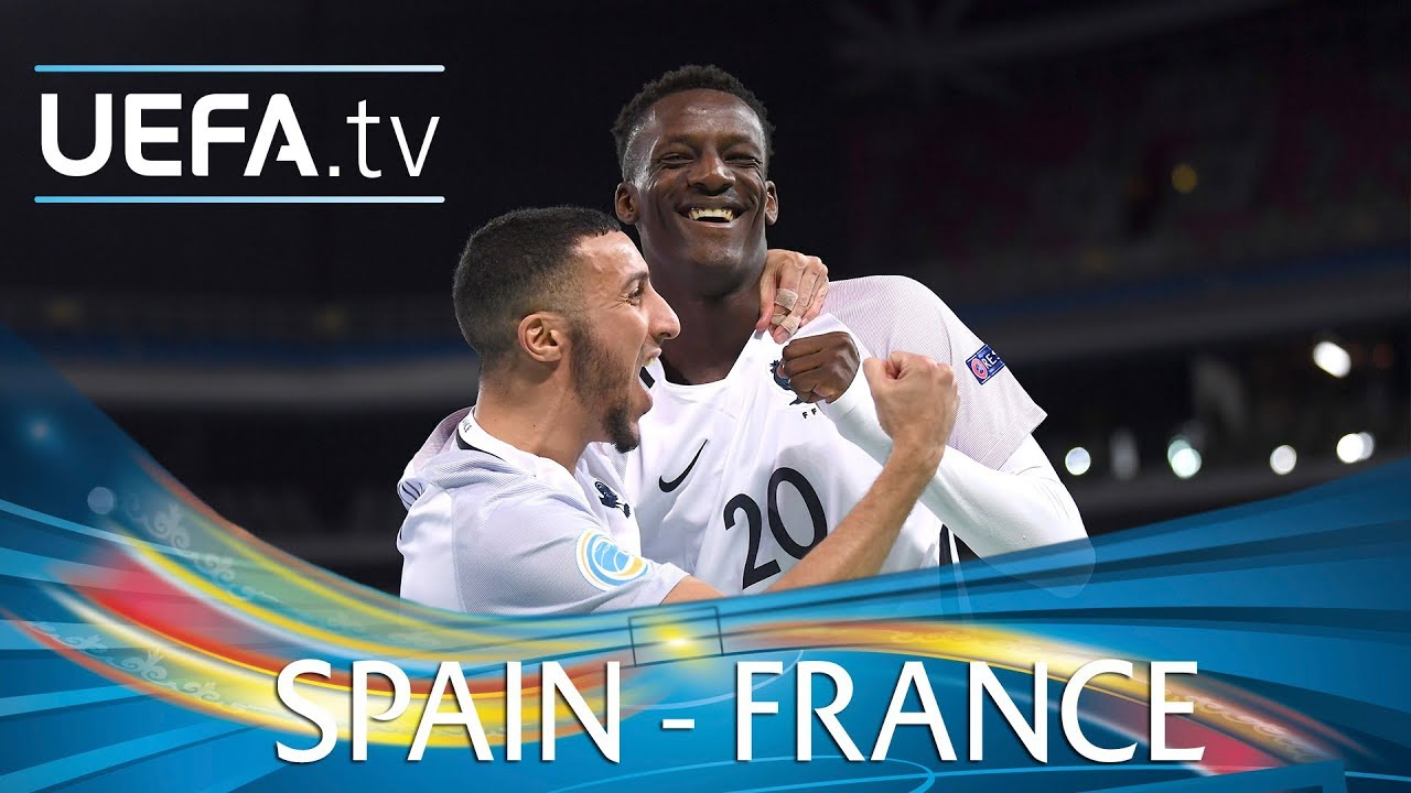 Futsal EURO highlights  Spain v France - YouTube 4fb76365dad59