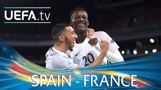 Futsal EURO highlights: Spain v France