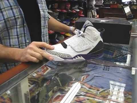pretty nice 51d40 e9205 Jordan Son of Mars Club Purple   Nike AF1 Supreme Deconstruct Hazelnut at  Street Gear, Hempstead NY