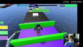 PMX GAMING Roblox Mega Fun Obby Kleinstein levels 179-290