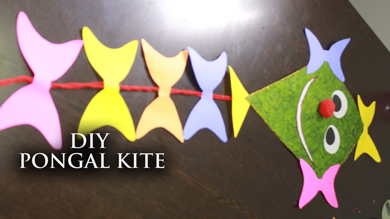 Diy pongal kite decorator useful crafts with waste for Waste to useful crafts