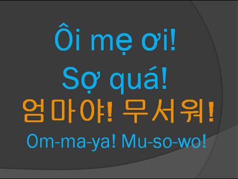 Học tiếng Hàn #20 Ôi trời tôi lại quên nữa rồi!