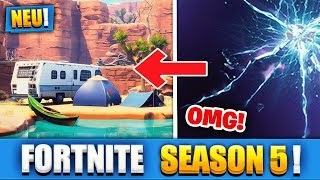 FORTNITE SEASON 5 IS STARTED!! | NEW BATTLE PASS FREE BUY - Fortnite Battle Royale