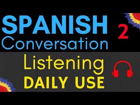 Spanish Listening Practice ||| Easy Spanish Conversation
