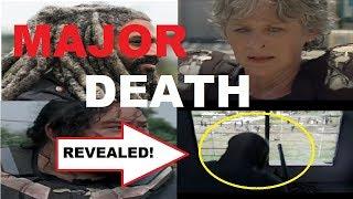 The Walking Dead Season 8 - MAJOR DEATH REVEALED - SPOILER!!!
