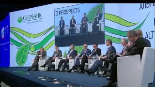 Чубайс - Глазьев, Петербургский международный экономический форум ПМЭФ 2014