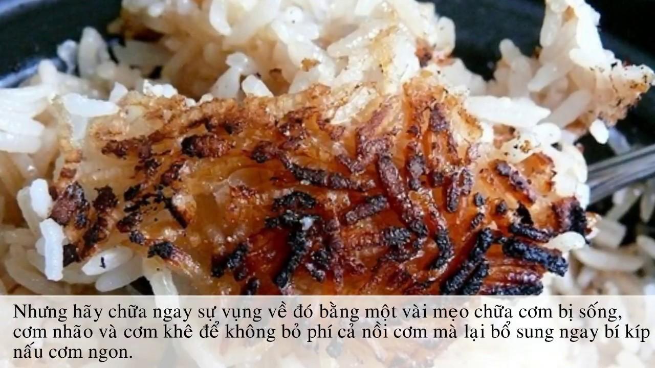 Nấu cơm nếu lỡ bị SỐNG – KHÊ thì hãy áp dụng mẹo nhỏ này để CƠM NGON trở lại