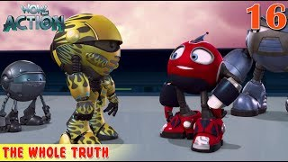Rollbots in Hindi | Ep16 | Full Episode - The Whole Truth | Hindi Cartoon For Kids | Wow Kidz Action