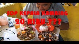 SOP KEPALA KAMBING KANG MAMAN ! Mukbang Kuliner Terenak Jalur Puncak Bogor / Indonesian Extreme food