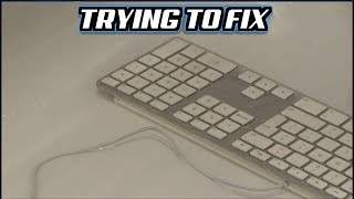Trying to FIX : Faulty Apple Keyboard Model A1243 purchased on eBay