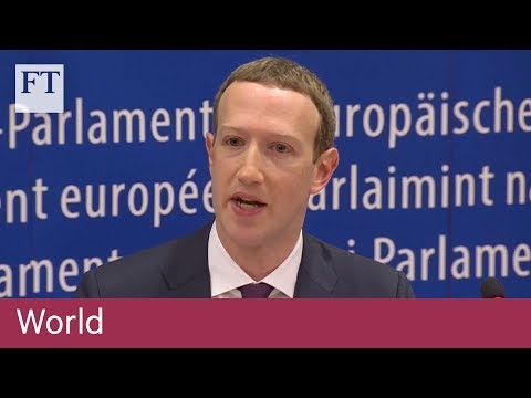 Facebook founder's answers leave angry EU politicians frustrated