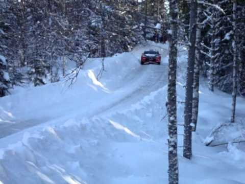 WRC Rally Sweden 2011 (Including Loeb + Latvala excursions into snow banks!)
