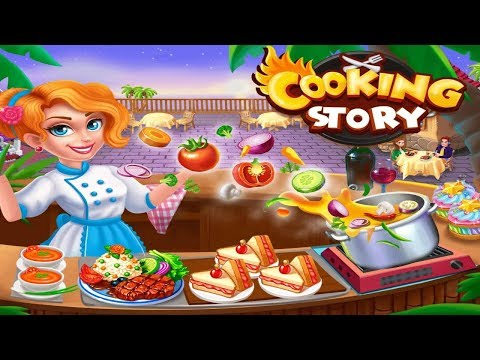 Cooking Story Crazy Kitchen Chef Restaurant Games Android Gameplay