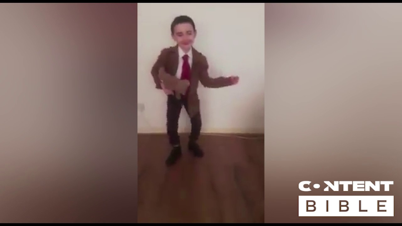 b00d62e15 Kid dressed up as Mr Bean for book character day! - YouTube