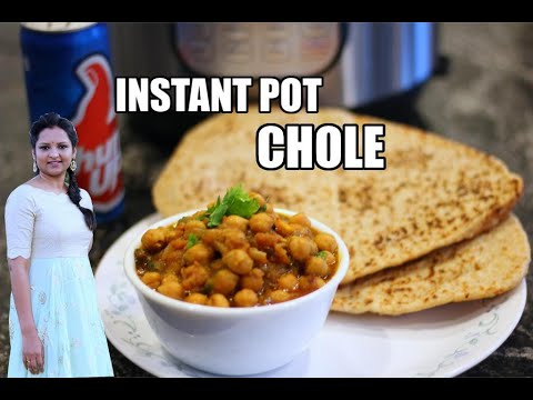 Instant Pot Chole | Chana Masala Curry | Indian Chickpea Curry