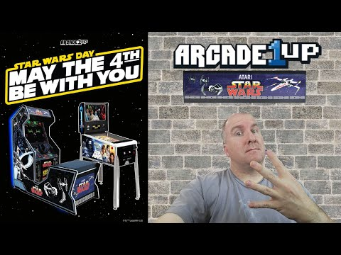Arcade1up: May the 4th Be With You! We look back at Star Wars Pinball and Star Wars Arcade cabinet from PsykoGamer