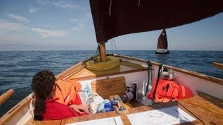 Dinghy Baltic Passage 2011 - open sea sailing on plywood nutshells