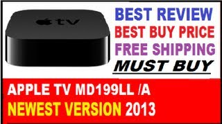 Apple TV MD199LL/A Review : Best Buy Price - Buy Now The New Apple TV MD199LL/A