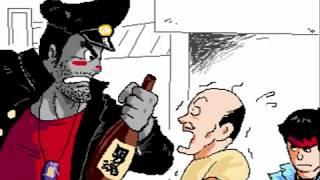 リー中川のブログ、『元祖!一人プロレス』にて連載中のWEB漫画「究極ア...