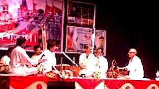 Ajit Kadkade Ji & Pandit Upendra Bhat Ji at Vitthal Gajari - 13th July 2011