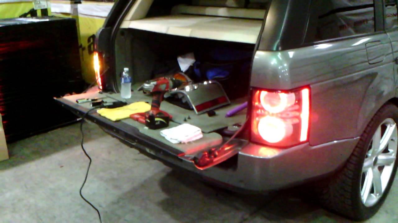 2005 Range Rover Rear Taillights Upgrade 2010 2012 Youtube