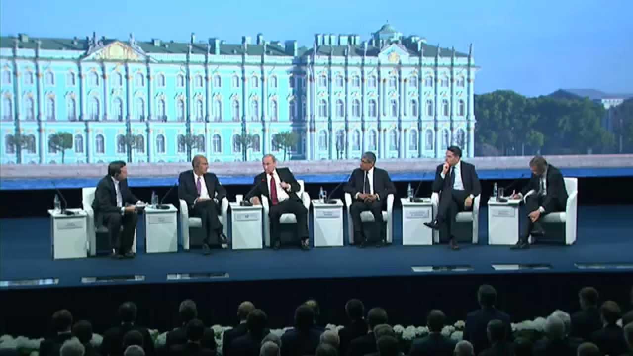 Ответы на вопросы участников Петербургского экономического форума