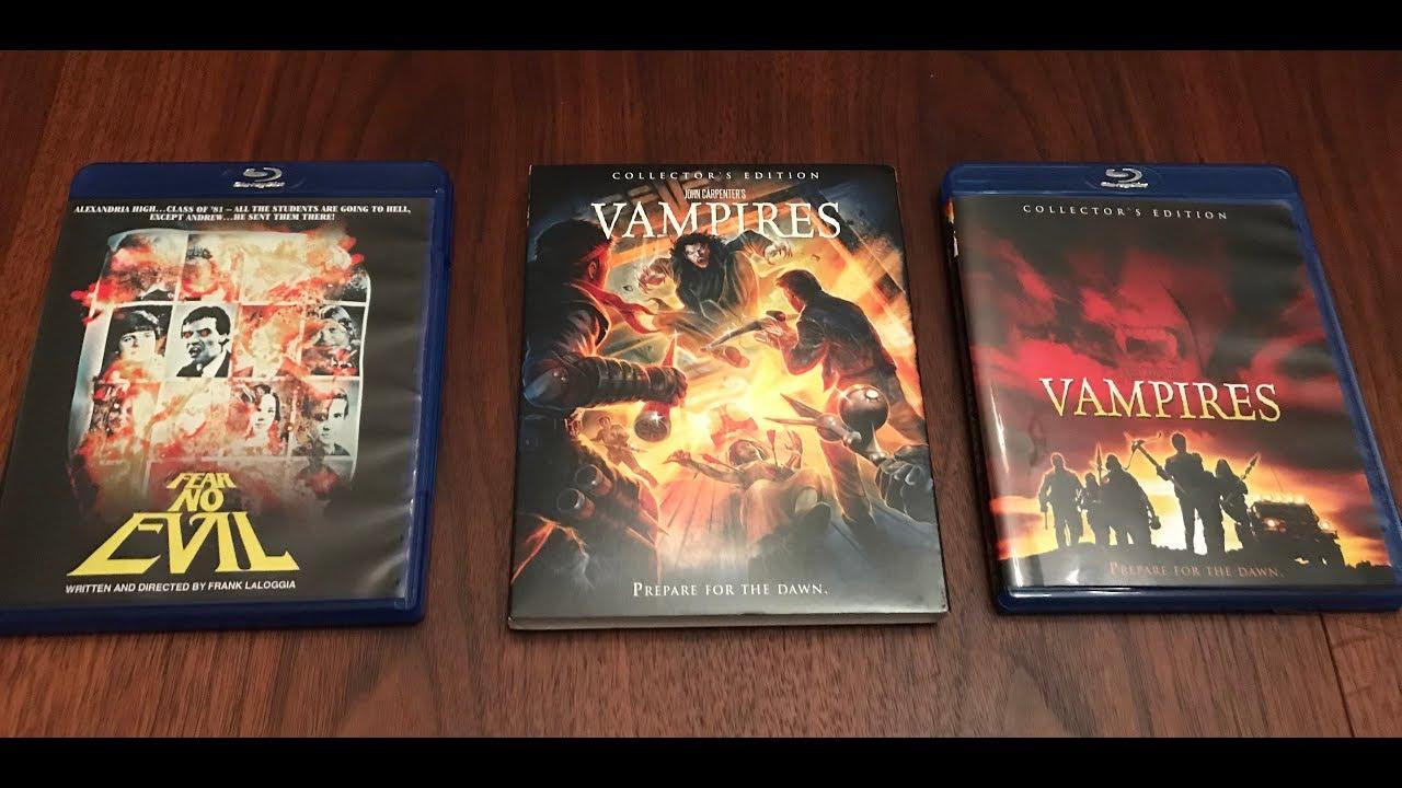 Frank LaLoggia's FEAR NO EVIL 1981 & John Carpenter's VAMPIRES 1998 Scream Factory Blu-ray unboxing