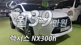 (월39만) 렉서스 NX300h 슈프림 / 스타일오토 …