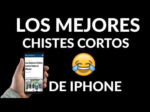 Los Mejores Chistes Cortos Sobre iPhone
