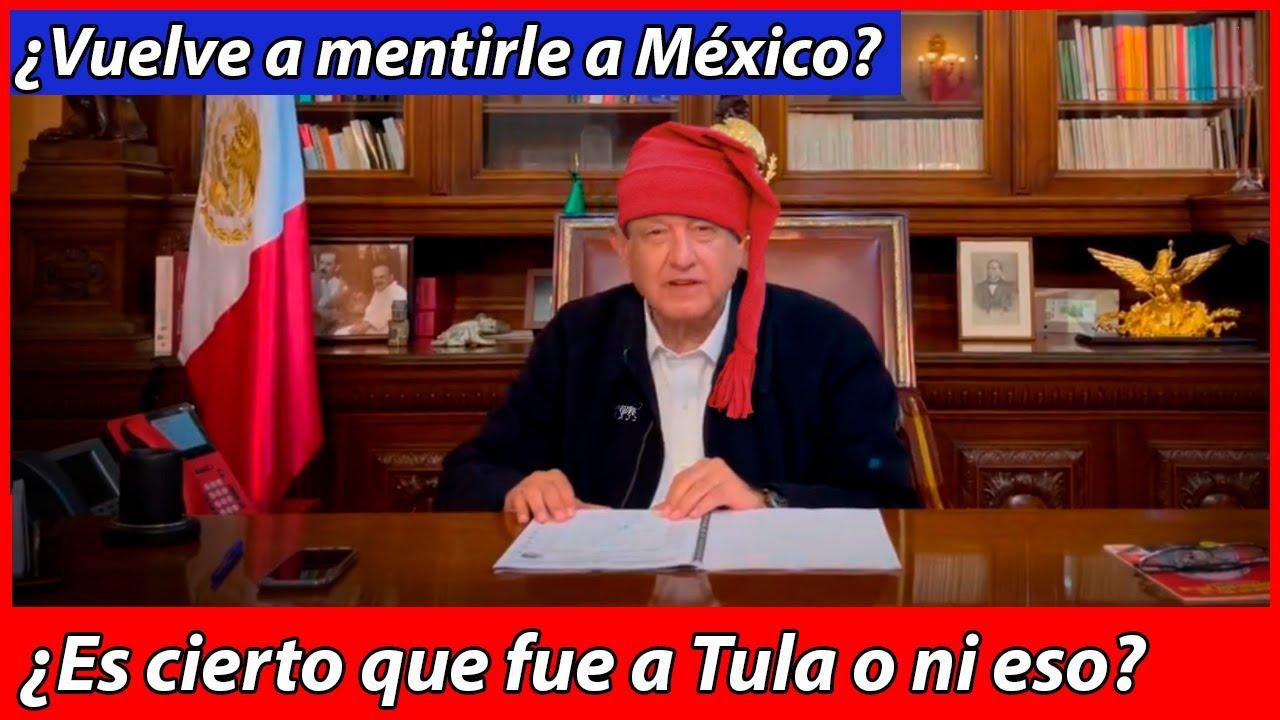¿Se aprovecha de Tula para mentirle a México?