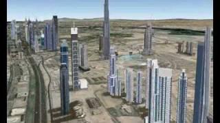 Google Earth- Burj Khalifa (Burj Dubai)