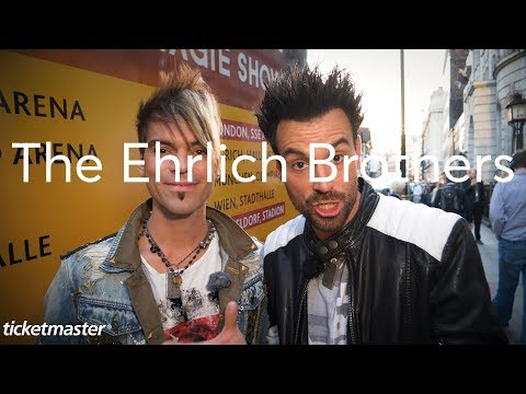 The Ehrlich Brothers discuss upcoming London show