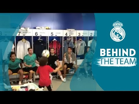 MARCELO's son ENZO shows off his skills in the Real Madrid dressing room Mp3