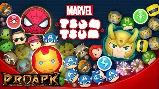MARVEL TSUM TSUM (JP) Gameplay IOS / Android