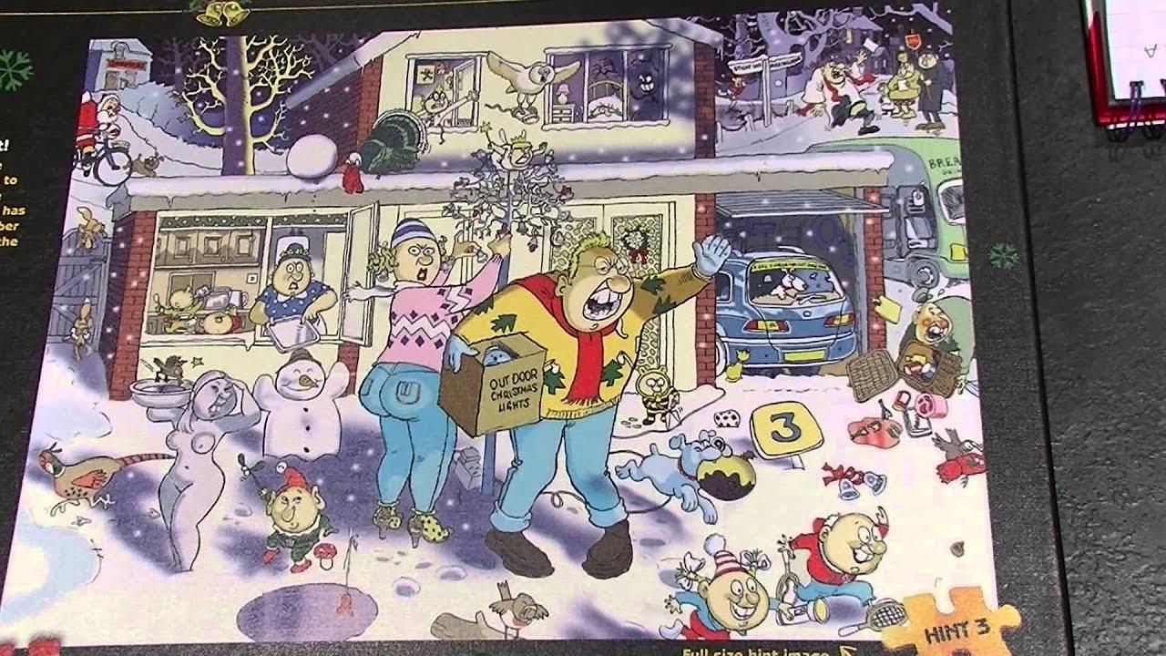 New Christmas Wasgij Jigsaw 9 A Bright Christmas Light - YouTube