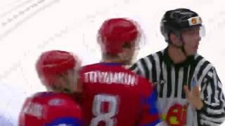 JVM 2014 - slutsingnalen, Sverige vs Ryssland Fight