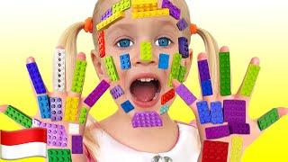 Wajah Lego | LEGO HANDS | Lagu Anak-anak dari Katya dan Dima