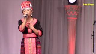 Fresno Hmong International New Year 2016 - 2017: Singing Comp Rnd 1 - Mindy Yaj #8