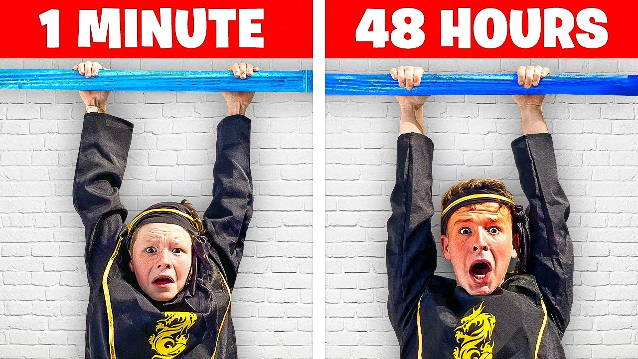 WHO Is The STRONGEST Ninja? BIG vs SMALL Ninja Challenge
