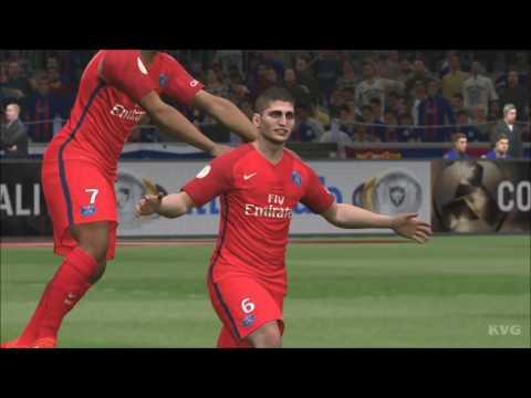 PES 2017 - FC Barcelona vs PSG | Gameplay (PC HD) [1080p60FPS]