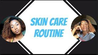 SKIN CARE ROUTINE | CurlyHeadAsh
