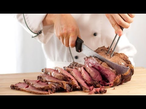SALT BAE STYLE MEAT SERVING | Amazing Knife Skills From Professionals | Skills Level 1000%
