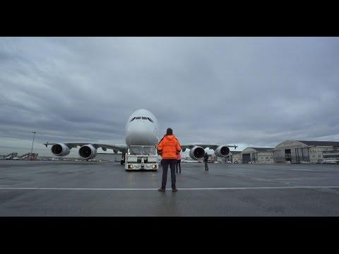 L'Airbus A380 rejoint le Musée de l'Air et de l'Espace de Paris-Le Bourget