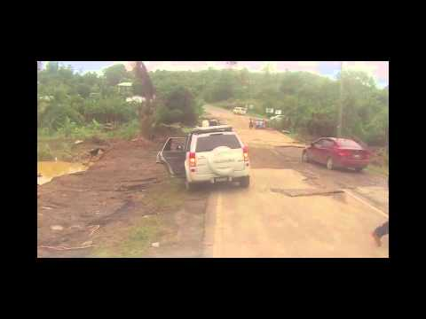 Saint Lucia Post Christmas Eve Floods - Journey to Vieux Fort
