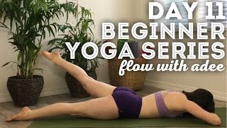 DAY 11/30 Beginner Yoga Series | Back Strengthening Exercises