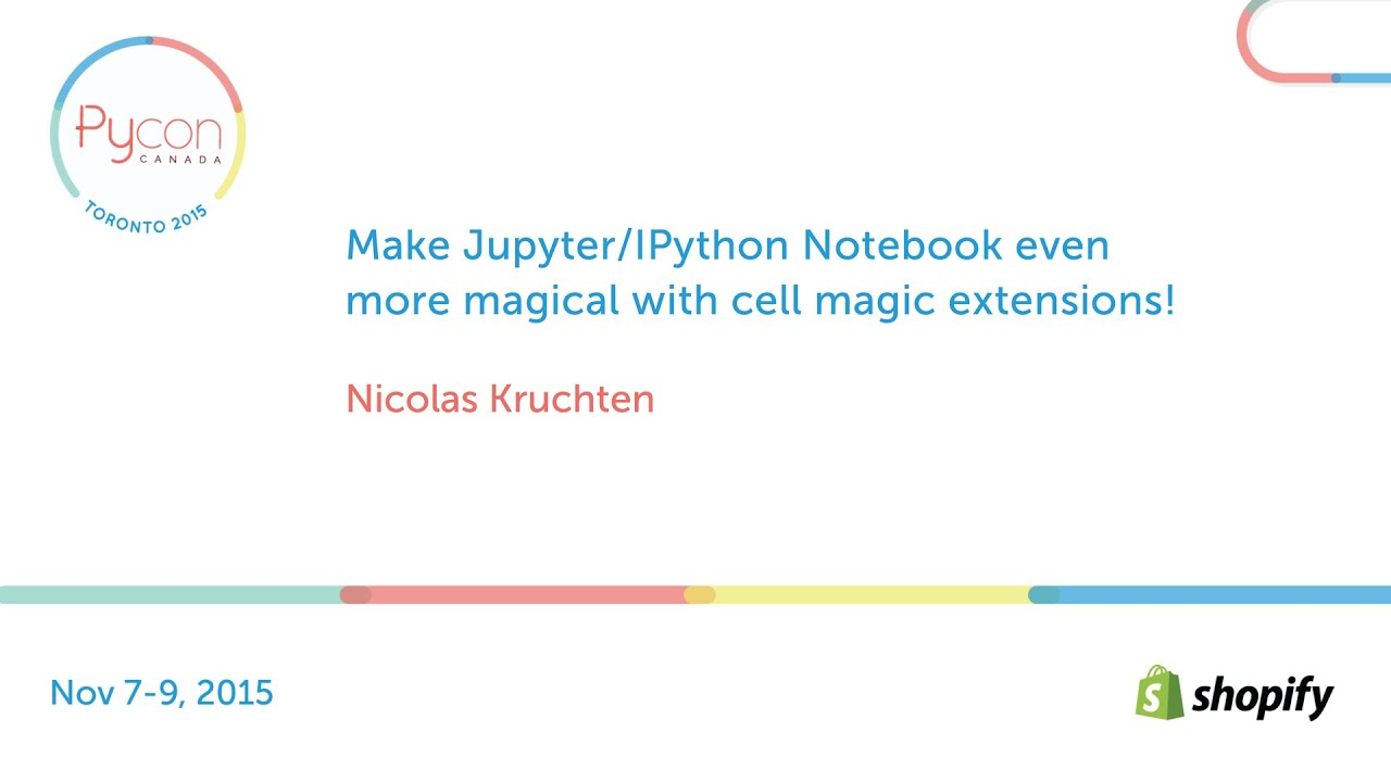 Image from Make Jupyter/IPython Notebook even more magical with cell magic extensions!