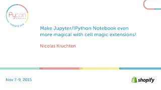 make jupyter ipython notebook even more magical with cell magic extensions